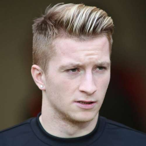 Marco Reus hairstyles and haircuts
