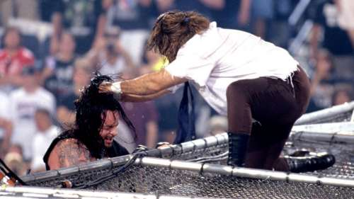 The Attitude Era took violence in pro wrestling to a new level.