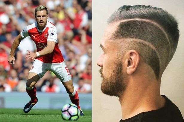 Twitter Reacts To Aaron Ramseys New Haircut