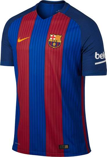 165bfc256 Barcelona home kit for the 2016 17 season  Pic credits  Footyheadlines