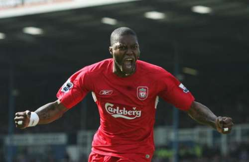 DjibrilCisse played for Liverpool, Sunderland and QPR in the Premier League