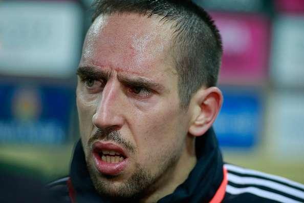 Ribery has won the Bundesliga 6 times with Bayern Munich