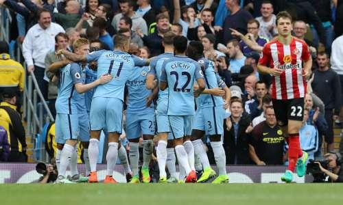 Manchester City vs Sunderland