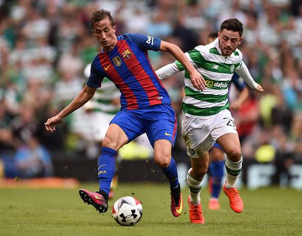 Patrick Roberts singled out for praise by Barcelona manager Luis Enrique