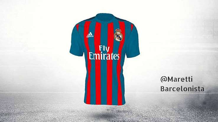 ac08050f6 Barca-esque jersey leading poll in Adidas  contest for new Real ...