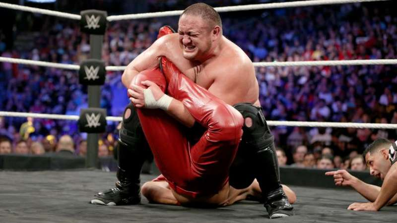 Image result for nxt takeover brooklyn 2 samoa joe