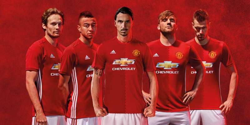 2ccf39172cf manchester united Manchester United s 2016-17 home kit