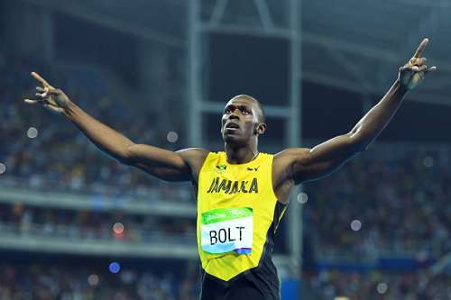 Usain Bolt 200m final Gold Rio Olympics 2016