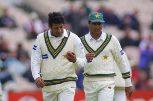 Waqar Younis feels his 'issues' with Wasim Akram did not ...Waqar Younis And Wasim Akram