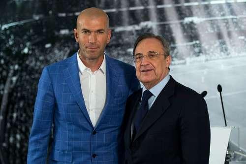 Zizou with Perez