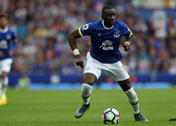 LIVERPOOL, ENGLAND - AUGUST 27: Yannick Bolasie of Everton during the Premier League match between Everton and Stoke City at Goodison Park on August 27, 2016 in Liverpool, England. (Photo by Lynne Cameron/Getty Images)