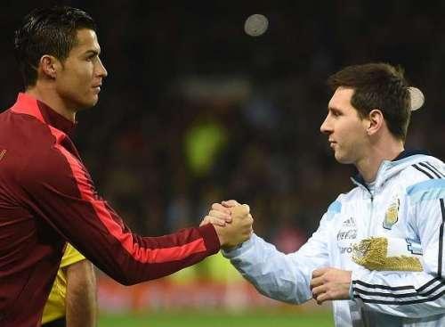 Image result for Ronaldo Messi  Sportskeeda