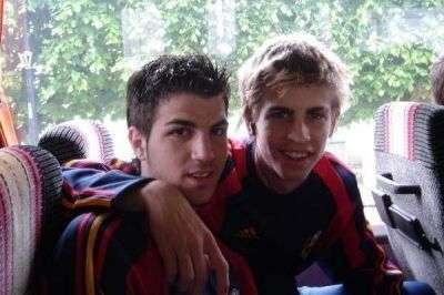 Image result for Fabregas Pique La Masia