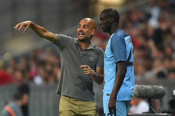 Pep Guardiola says Yaya Toure won't play for Manchester City unless his agent apologises