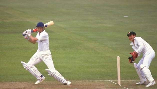 Gower's elegant and perfectly timed strokeplay was a treat for the spectators