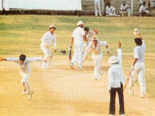 India Australia Tied Test