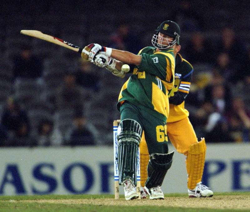 Klusener was known to use the heaviest bat back in the day