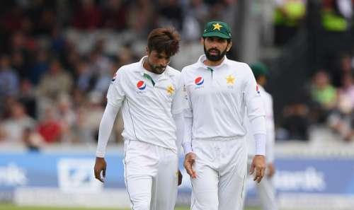 Mohammad Amir and Misbah ul Haq