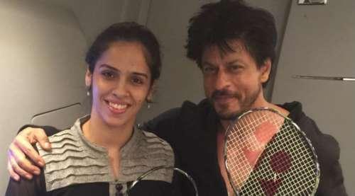 Saina Nehwal Shahrukh Khan