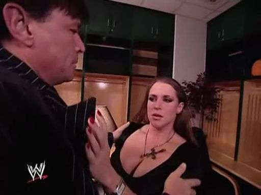 Eric Bischoff and Stephanie McMahon