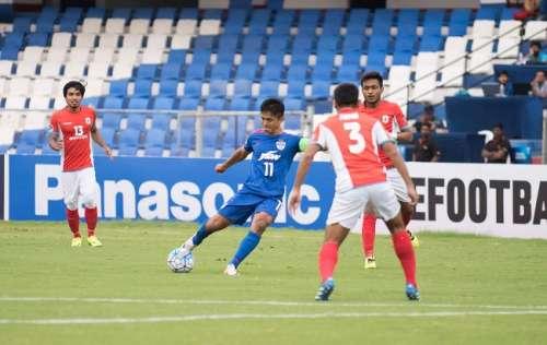 Sunil Chhetri Bengaluru FC ISL Mumbai City FC