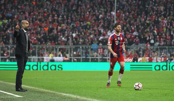 Xabi Alonso hails 'amazing' Guardiola for instant impact on Manchester City