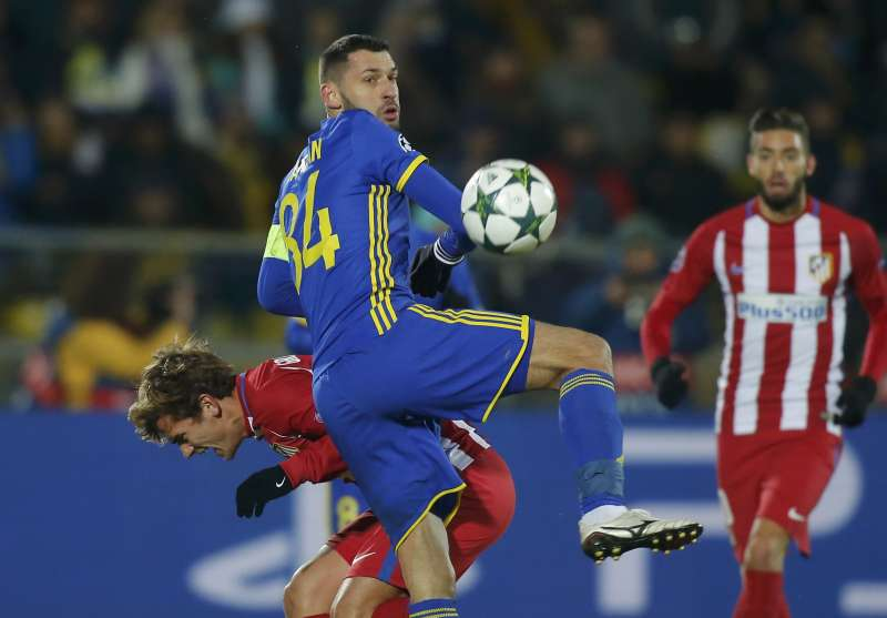 ab08a0727 Carrasco strike lifts Atletico to win over dogged Rostov
