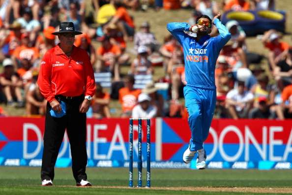 When Virat Kohli took his first international wicket off his 0th ...