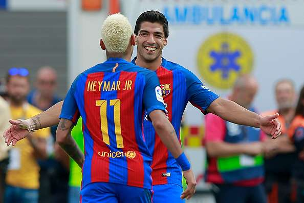 4acc1723810e7 La Liga 2016-17  Luis Suarez reportedly wants to earn as much as Neymar