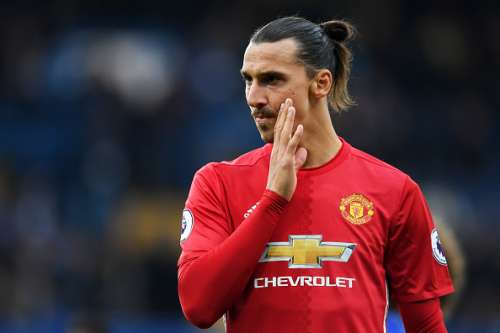 LONDON, ENGLAND - OCTOBER 23:  Zlatan Ibrahimovic of Manchester United reacts during the Premier League match between Chelsea and Manchester United at Stamford Bridge on October 23, 2016 in London, England.  (Photo by Shaun Botterill/Getty Images)