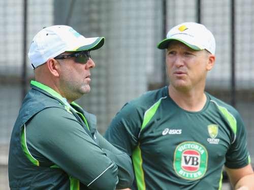 Darren Lehmann Brad Haddin Australia Cricket