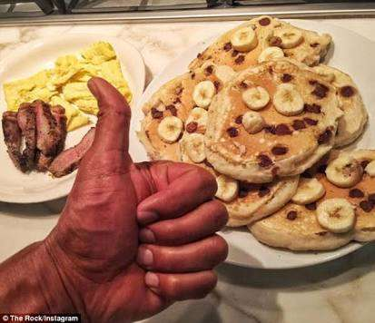 The Rock cheatday - What does Dwayne Johnson do on his ...