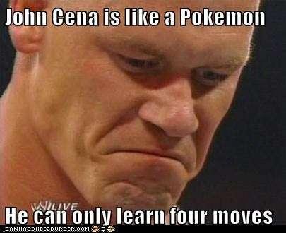 john cena is like a pokemon 1476193020 800 50 best john cena memes of all time