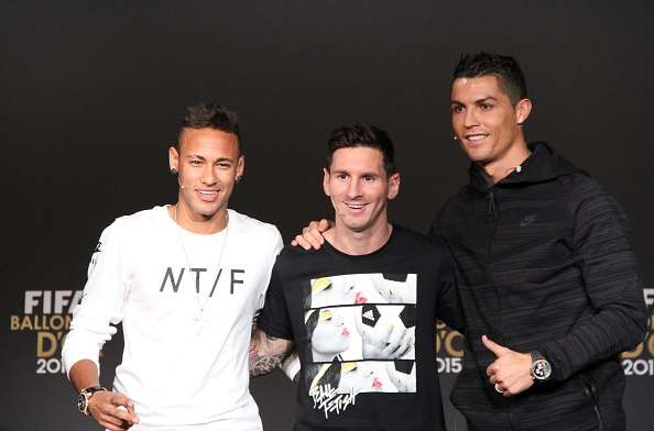 Ronaldo And Messi Together Friends