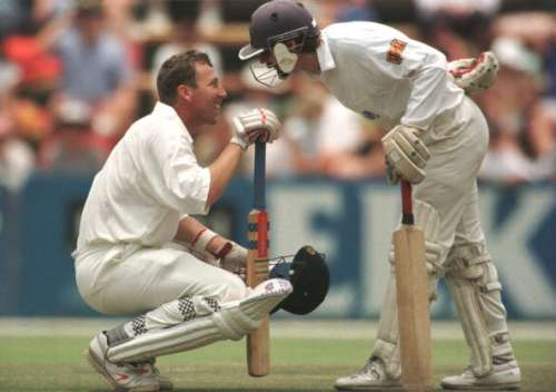 Michael Atherton Jack Russell