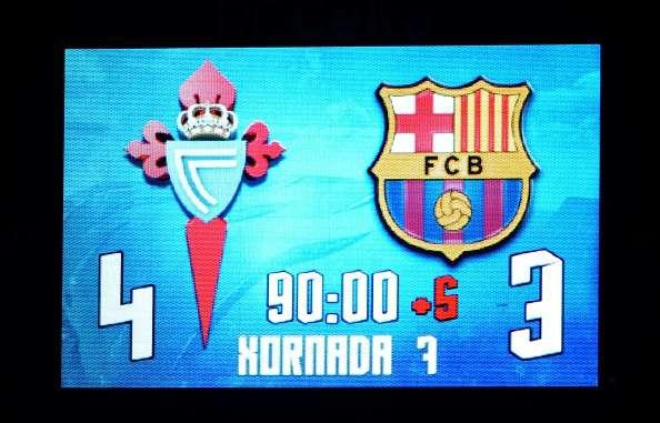 Twitter trolls Barcelona and Ter Stegen after shock 4-3 loss against Celta Vigo