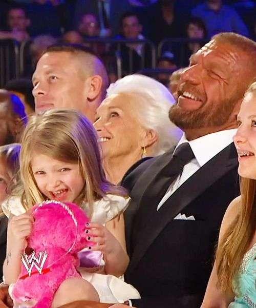 Triple h wife name