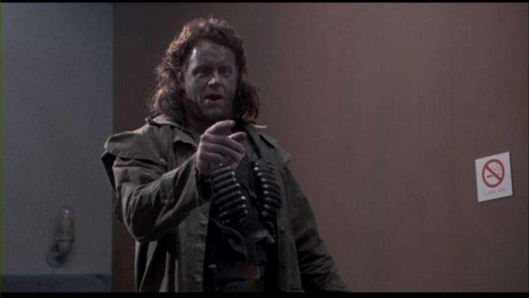 The Undertaker in his role as Hutch in the 1991 Sci-Fi comedy Suburban Commando