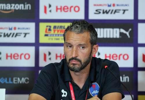 Zambrotta during a press conference