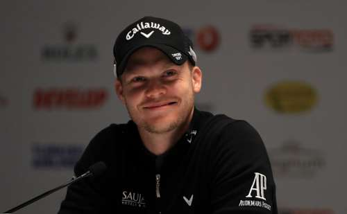ANTALYA, TURKEY - NOVEMBER 02:  Danny Willett of England speaks to the media during a press conference for the Turkish Airlines Open at the Regnum Carya Golf & Spa Resort on November 2, 2016 in Antalya, Turkey.  (Photo by Richard Heathcote/Getty Images)