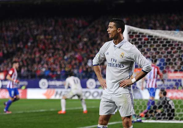 Cristiano Ronaldo, with 22 goals, is the all-time top-scorer in the Madrid Derby