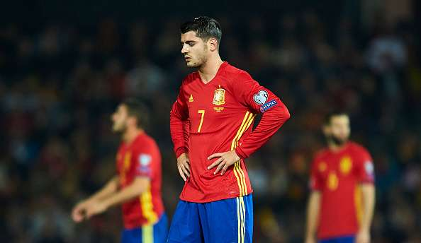 Image result for alvaro morata national team