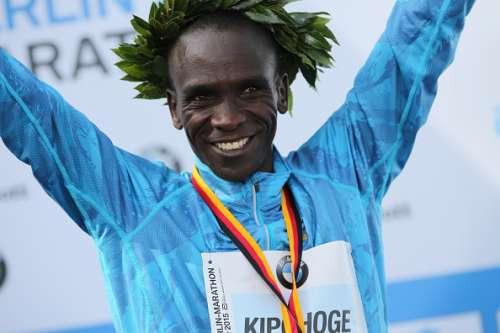 Eliud Kipchoge Airtel Delhi Half Marathon 2016