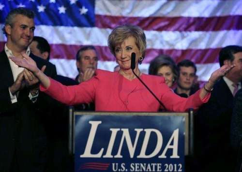 While not a wrestler, Linda McMahon's campaign is one of wrestling's most famous.