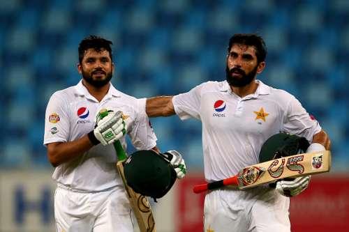 Azhar Ali and Misbah ul Haq
