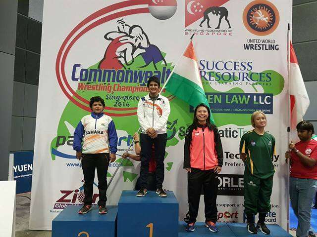 Indian wrestlers shine bright at the Commonwealth Wrestling