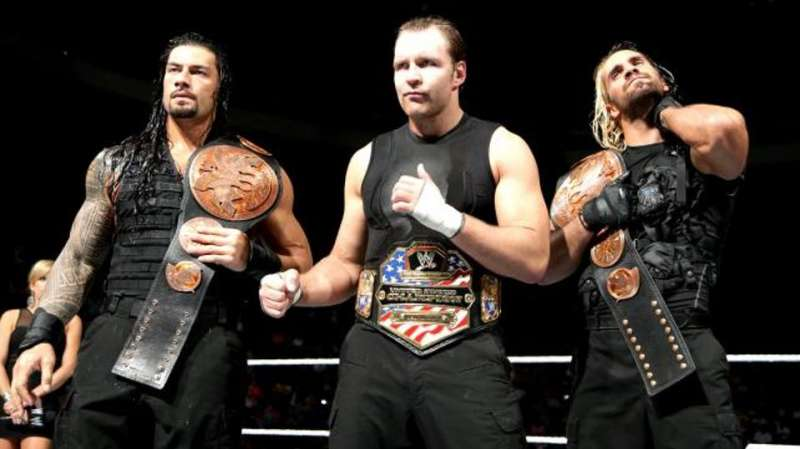 Ambrose, as part of The Shield