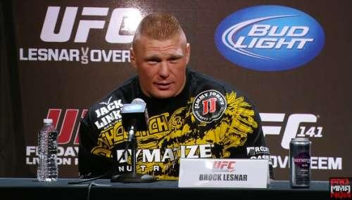 Brock Lesnar MMA