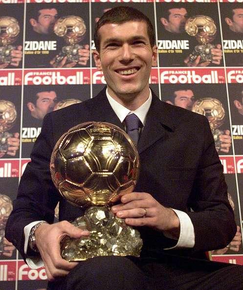 zidane ballon d or