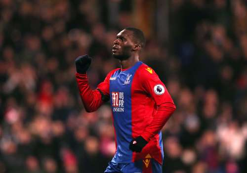 LONDON, ENGLAND - DECEMBER 03:  Christian Benteke of Crystal Palace celebrates scoring his team's third goal during the Premier League match between Crystal Palace and Southampton at Selhurst Park on December 3, 2016 in London, England.  (Photo by Christopher Lee/Getty Images)